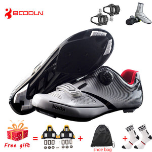 Breathable Pro Self-Locking Cycling Shoes