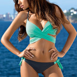 Candy Color Bikini Swimwear