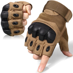 Hard Knuckle Full Finger Gloves