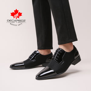 Mr. Black's Special Wedding Shoes