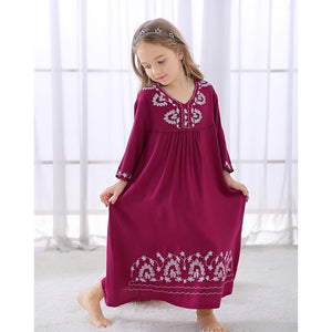 Soft Cotton Nightdress For Baby Girls