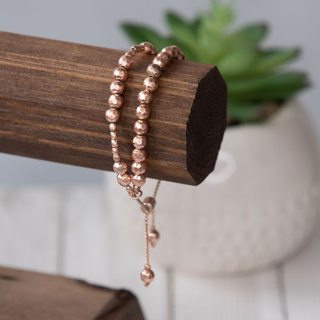 Joan Rose Gold Adjustable Bracelet