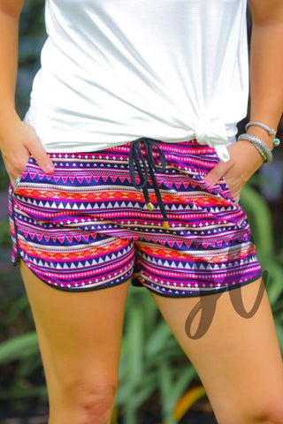 Aztec Essential Drawstring Shorts