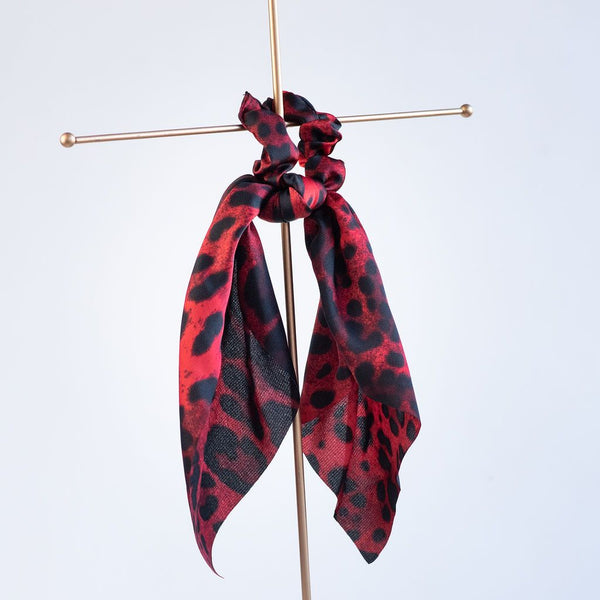 Luxe Leopard Hair Scarves. 3 in 1 Accessory