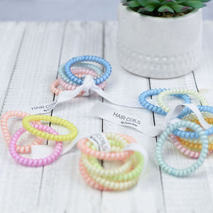 Skinny Unicorn Lauren Lane Hair Coils. Sets of 5