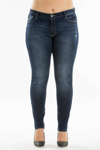 Dark Wash Jeans Plus Size