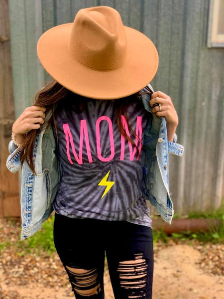 MOM Acid Wash Tee
