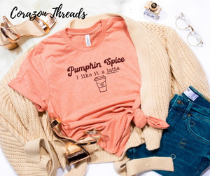 Pumpkin Spice | I like it a latte