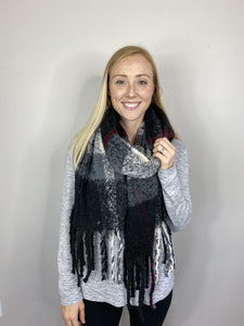 Black Fairbanks Freeze Scarf