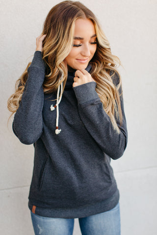 Charcoal Doublehood Sweatshirt