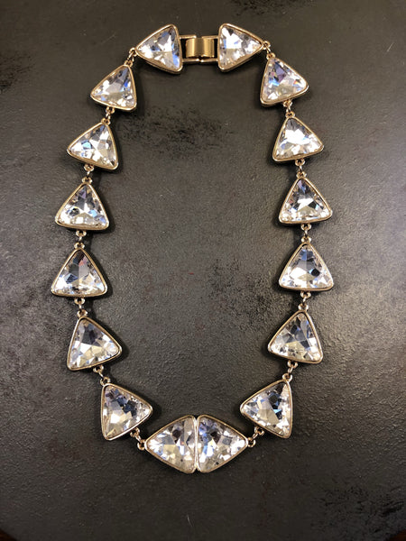 Alyssa Rhinestone Statement Necklace