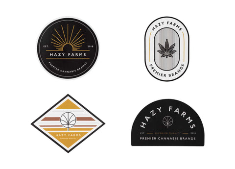 Limited Edition Hazy Farms Sticker Pack