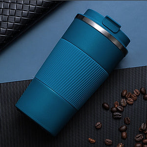 Double Stainless Steel Coffee Thermos Mug