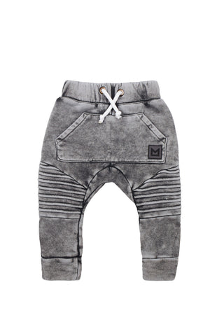 MINIKID Acid Graphite Pants