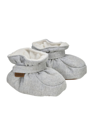 En Fant Baby Slippers Light Grey