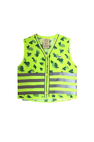 Camou Fluo Vest Greenish