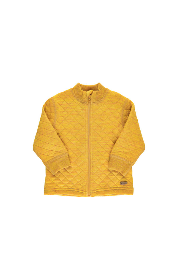 Merino Bomber Yellow