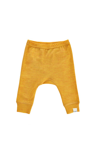 Merino Joggers Yellow