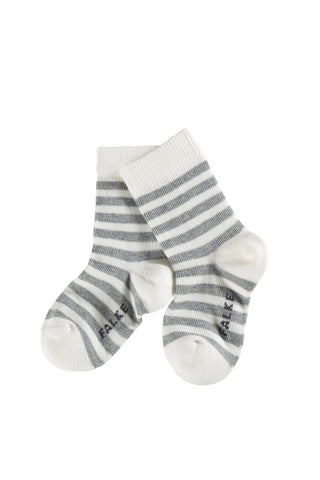 Stripe Off-White Socks