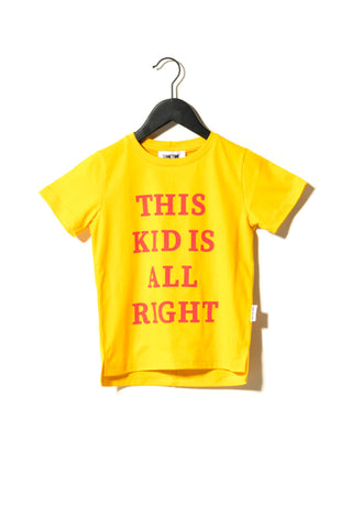 Huston Tee Yellow