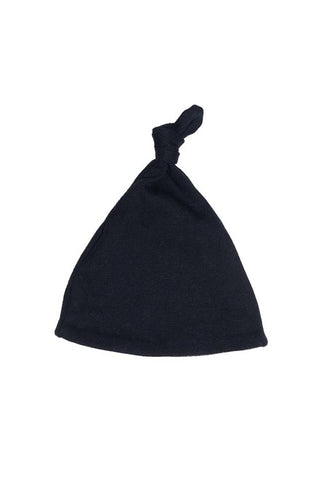 Baby Knot Hat Black
