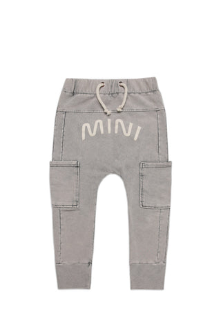 MINIKID Marble Grey Mini Joggerit
