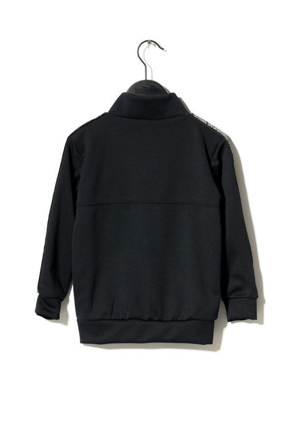 Monument Track Top Black