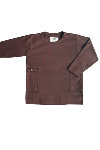 Phoenix LS Cotton Shirt Chestnut