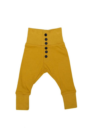 Baby Leggings Yellow