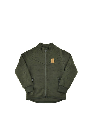 Zion Track Top Green
