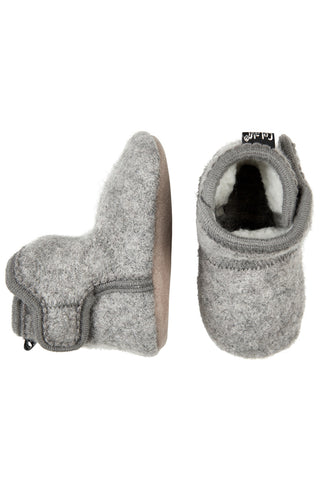Woolen Booties Grey