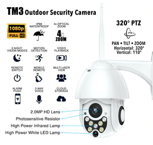 TM3 Outdoor Security Camera