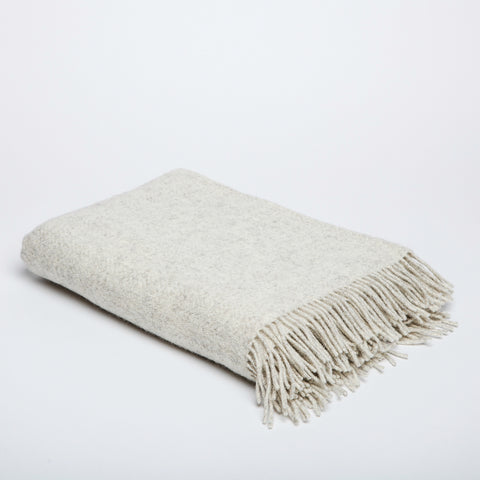 Textured Wool Throw