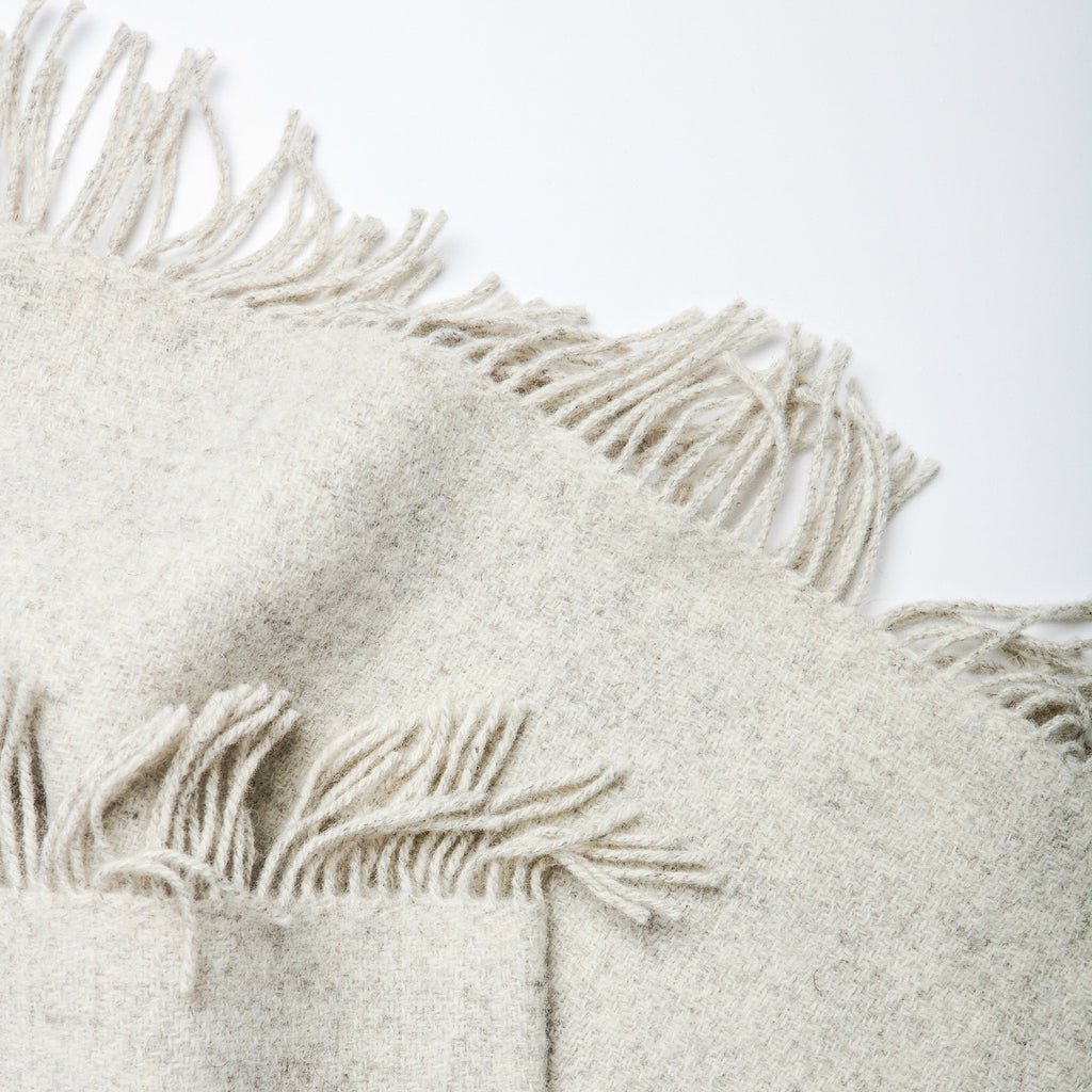 Textured Wool Throw - Irish Design Shop data-zoom=