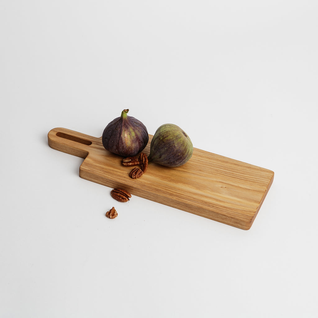 Coolree Designs small wooden serving board, Ash and walnut wood serving boards, Irish kitchenware  data-zoom=