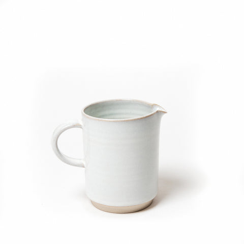 Rosemarie a Durr ceramics stacking jug, Stacking ceramic mild jug, Simplistic ceramic design