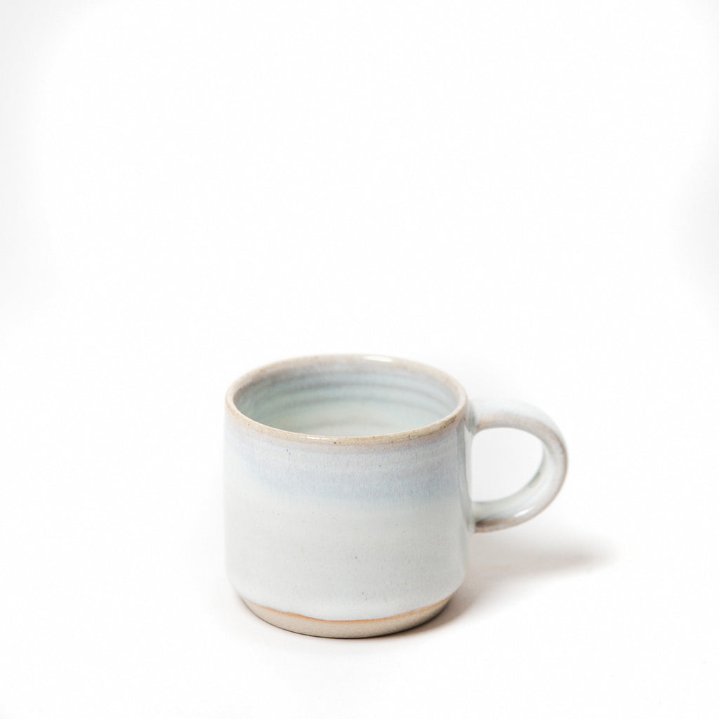 single stoneware espresso cup, tiny cups, handmade, made in Ireland data-zoom=