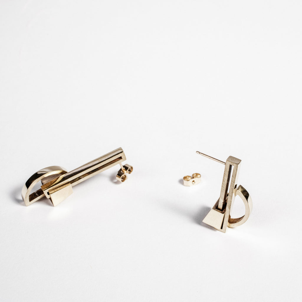 Statement earrings, Sustainable jewellery, Simple bold earrings data-zoom=