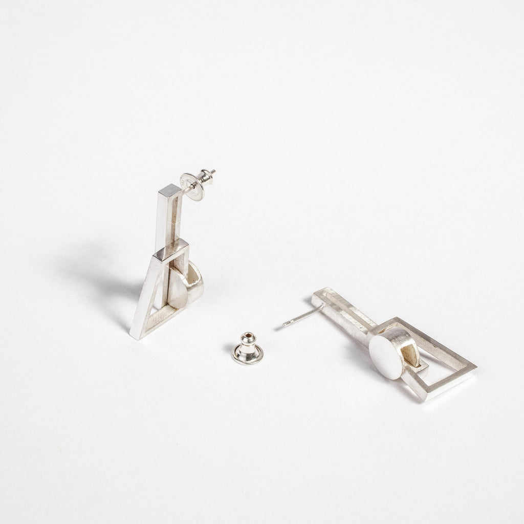 Names Dublin Isabel earrings, Statement earrings, Contemporary Irish jewellery  data-zoom=