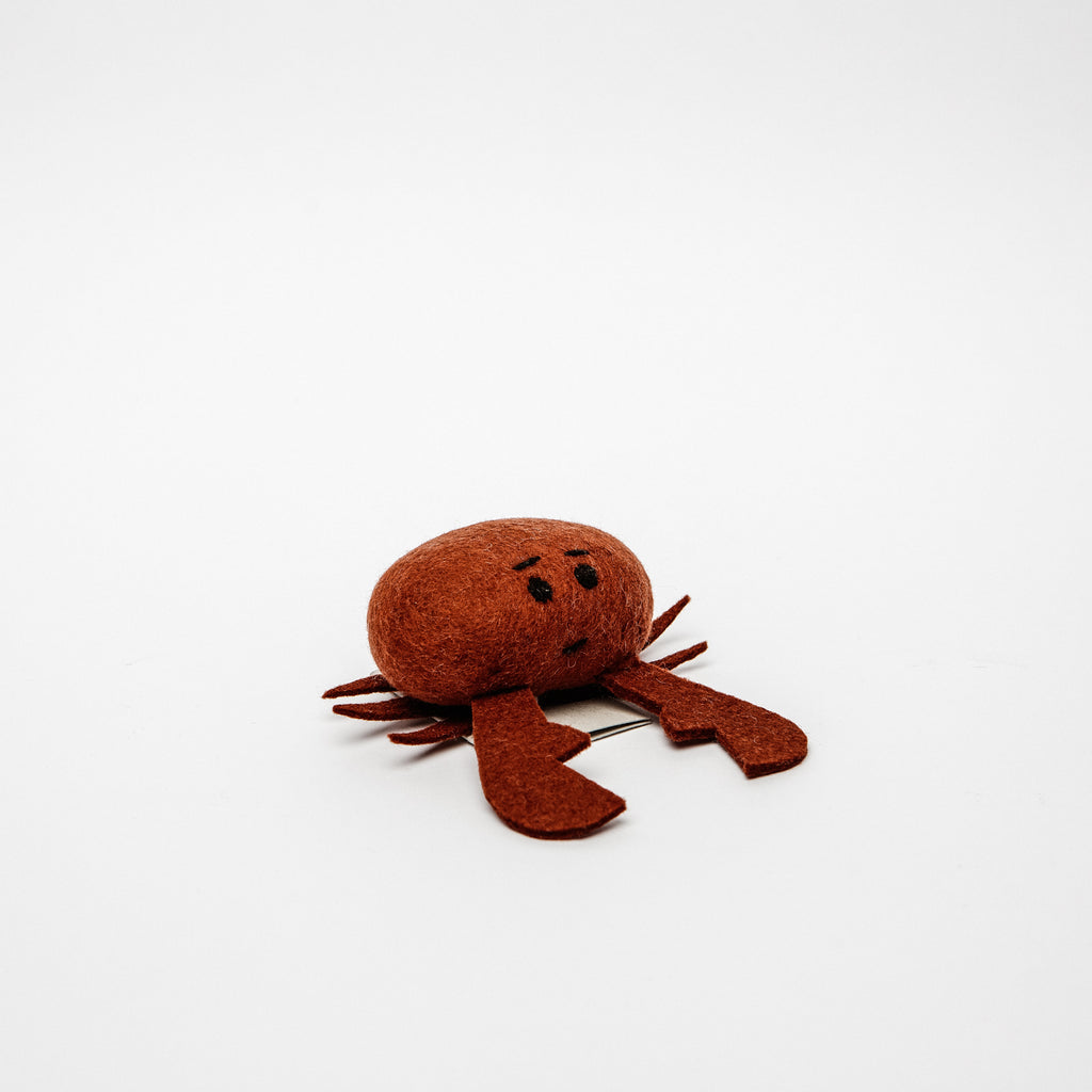 Felt Crab - Irish Design Shop data-zoom=