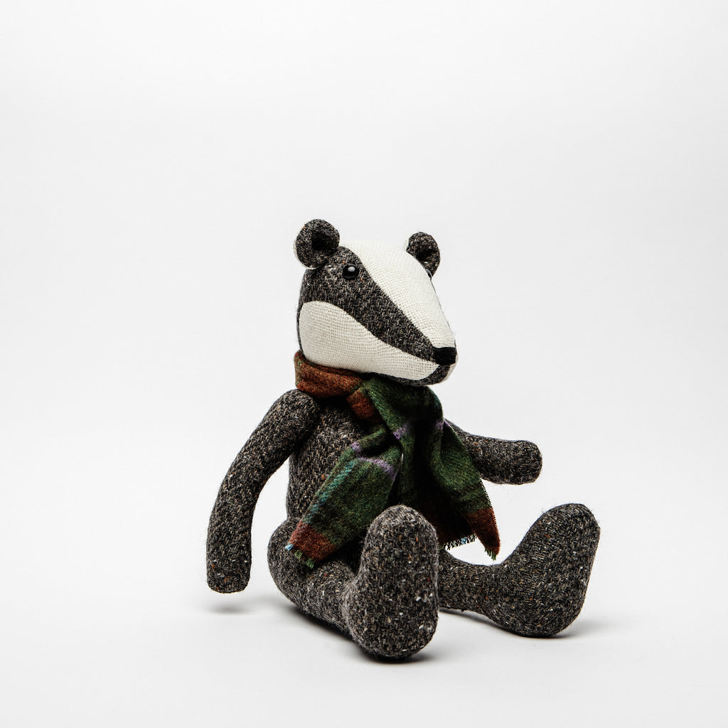 Tweed Badger - Irish Design Shop data-zoom=