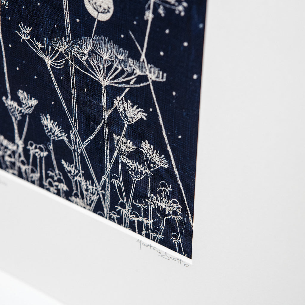 Wild Flowers & Moon - Irish Design Shop data-zoom=