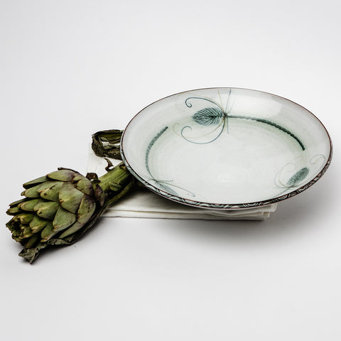 Serving dish - teasel