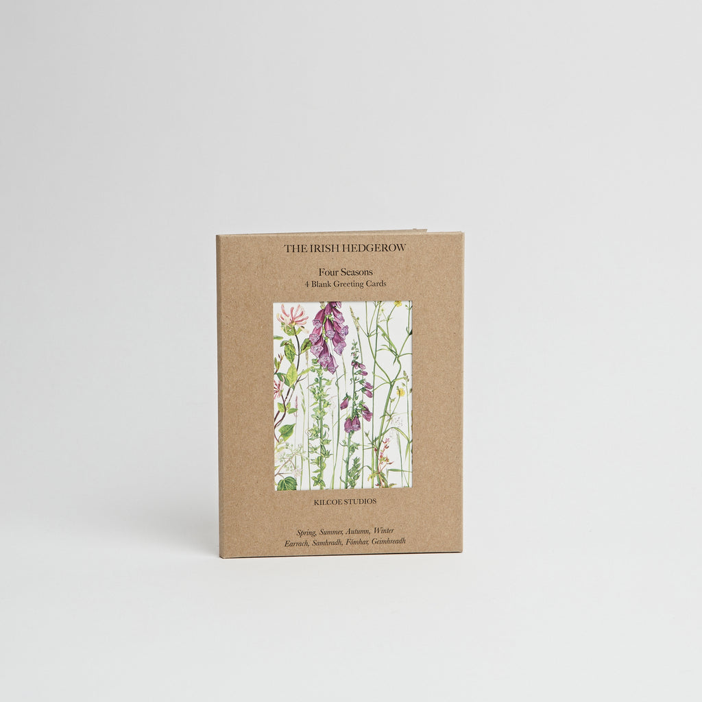 Irish Hedgerow Greeting Cards data-zoom=