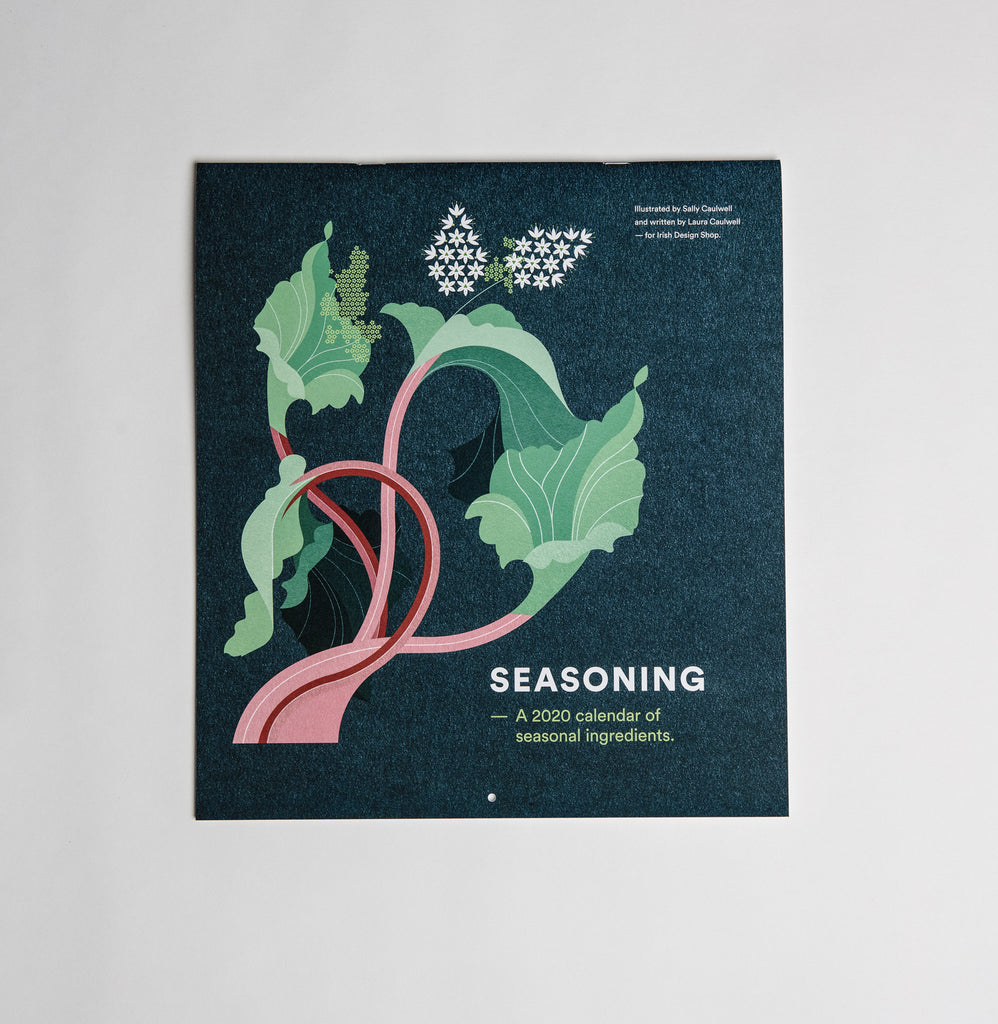 Seasoning - A 2020 Calendar of seasonal ingredients - Irish Design Shop data-zoom=
