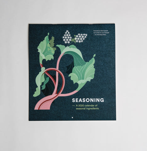Seasoning - A 2020 Calendar of seasonal ingredients - Irish Design Shop