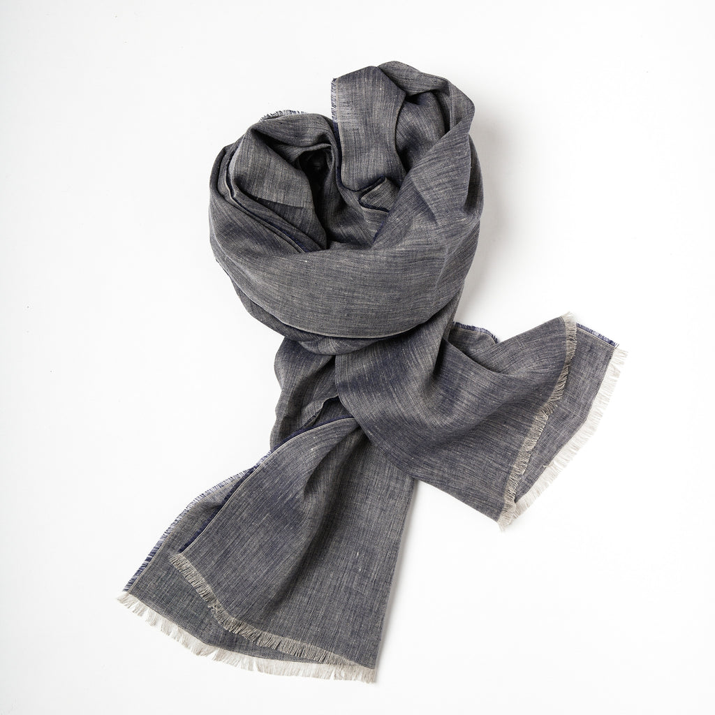 Irish Linen Scarf - Irish Design Shop data-zoom=