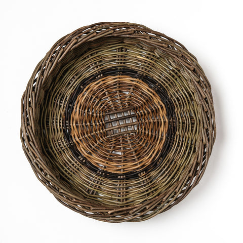 large willow potato skib, Willow skib, Willow basket