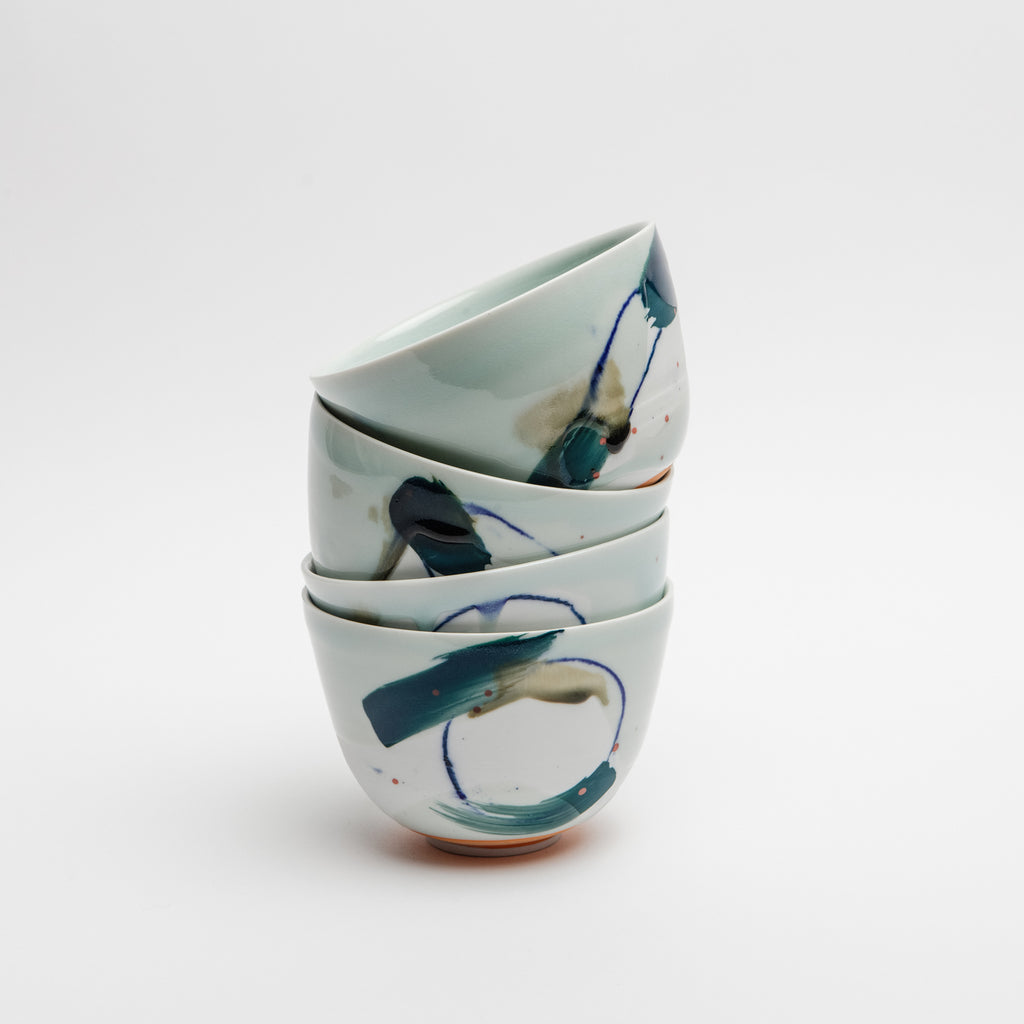 Abstract Porcelain Bowl - Irish Design Shop data-zoom=