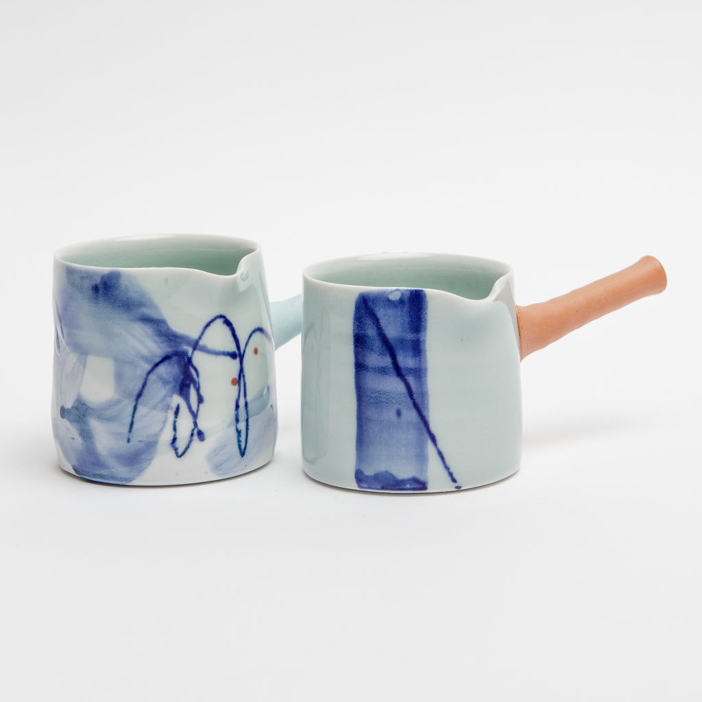 Adam Frew Ceramics handled jug, Adam Frew Ceramics, Irish made Ceramics, Irish porcelain  data-zoom=